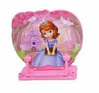 Подставка для книг Принцесса София пластиковая с пластиковым регулятором 36910