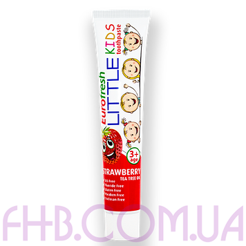 Дитяча зубна паста Eurofresh Little Kids