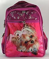 """Рюкзак шкільний для дівчинки 1-4 класи FAVOR """"Собачка"""""""