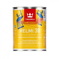 Краска для мебели акрилатная полуматовая Tikkurila Helmi 30 (Хелми 30) 0,9л