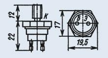 Транзистор 2Т926А мезапланарные