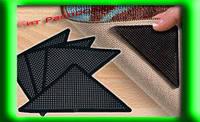 Уголки-липучки Ruggies для ковриков и ковров