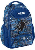 Молодежный рюкзак PASO 19L, 18-2908BB16 синий