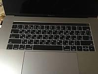 """Накладка на клавіатуру MacBook Pro 13, 15"""" Touch Bar з російськими літерами, фото 6"""