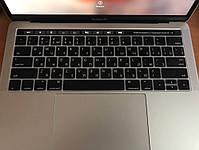 """Накладка на клавіатуру MacBook Pro 13, 15"""" Touch Bar з російськими літерами, фото 7"""