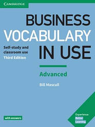 Business Vocabulary in Use Advanced 3rd Edition with answers