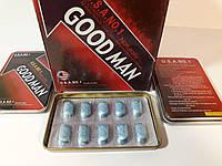 Goodman Гудмен США 10 шт препарат для потенции, эрекции, повышение мужского либидо