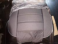 Чехлы Пилот Pilot ВАЗ 2101/02/05 кожзам черный + ткань темно-серая