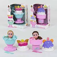 Кукла-мороженое CY 1209 (72/2) пахнет, 2 вида, 1шт в коробке Т