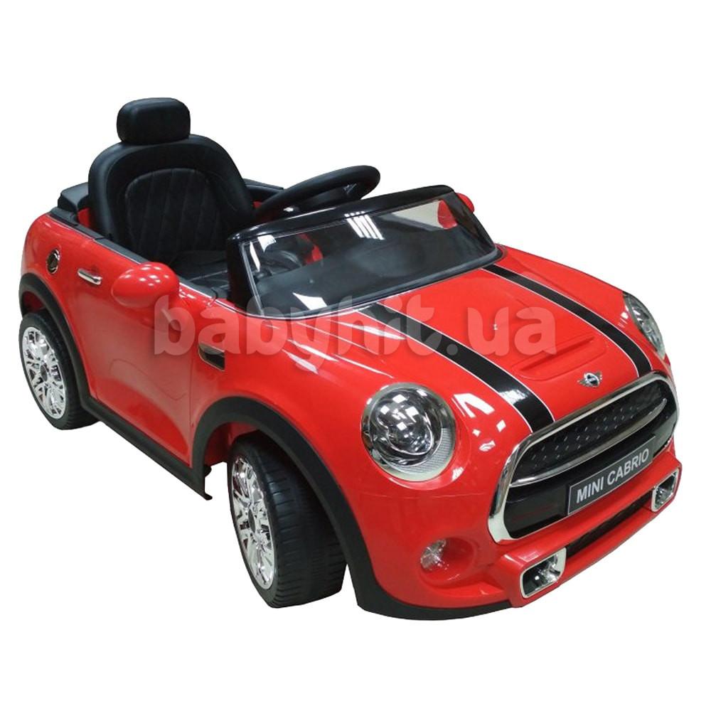 Детский электромобиль Mini красный