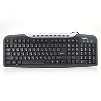Клавиатура USB Merlion KB-Black Star, (Eng / Укр / Рус), Box