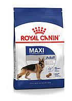 Корм для крупных пород старше 15 месяцев- Royal Canin Maxi Adult, 4 кг