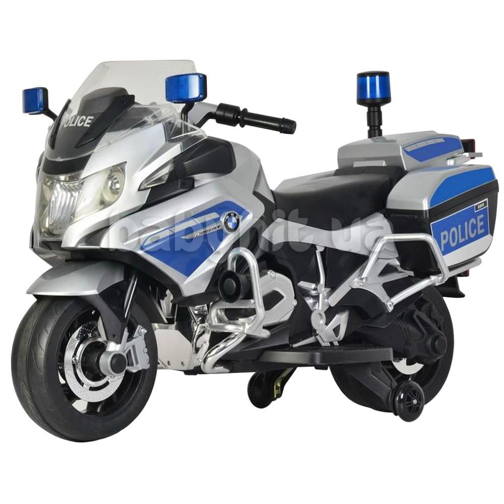 Детский мотоцикл BMW металлик