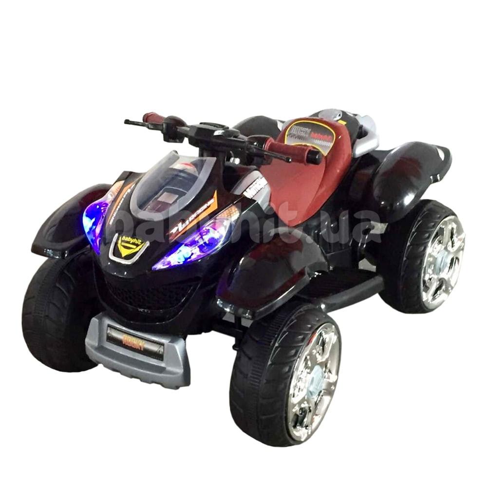 Детский электрический квадроцикл Babyhit Rocky Black