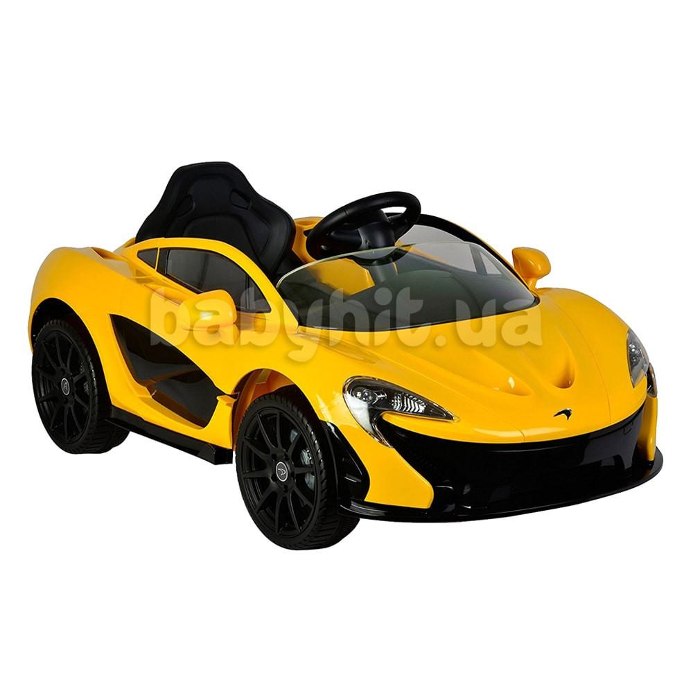 Детский электромобиль McLaren желтый