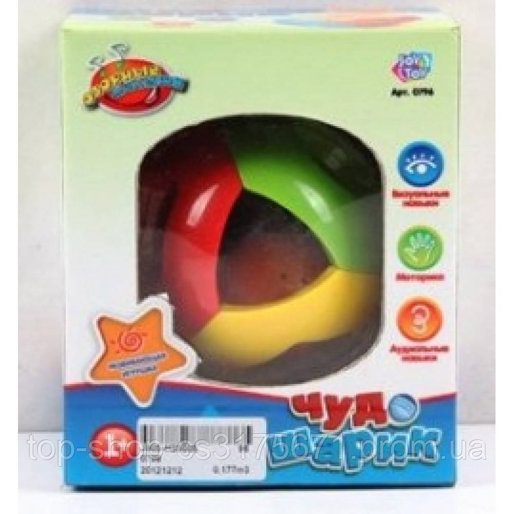 Чудо шарик обучающий 0796