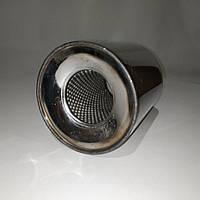 Пламегаситель коллекторный 128/100 , вставка вместо катализатора в коллектор 128/100 (диаметр/высота) нержавейка