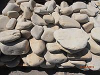 Галька крупная( окатанный песчаник)