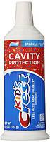 Детская зубная паста Crest Kid's Cavity Protection Neat Squeeze Sparkle Fun Flavor 164 гр. Оригинал из США