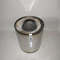 Пламегаситель коллекторный 115/115, вставка вместо катализатора в коллектор 115/115 (диаметр/высота) нержавейка