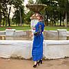 """Платье вышиванка в стиле бохо """"Колорит"""", фото 4"""