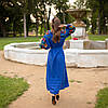 """Платье вышиванка в стиле бохо """"Колорит"""", фото 5"""