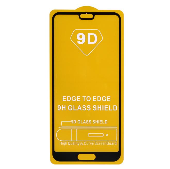 Стекло Full Glue для Xiaomi MI A2 lite /  Redmi 6 Pro с черной рамкой