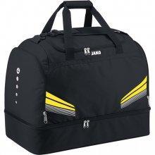 Сумка спортивная Jako Sports Bag Large Pro 2040-03-2 подростковая цвет: черный/желтый