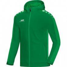 Куртка Jako Hoodie Jacket Striker 6816-06 детская цвет: зеленый