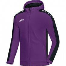 Куртка Jako Hoodie Jacket Striker 6816-10 детская цвет: пурпурный