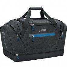 Сумка спортивная Jako Sports Bag Champ 2007-08-2 подростковая цвет: черный меланж