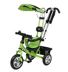Велосипед детский трехколесный Mini Trike зеленый