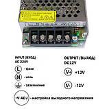 Блок питания OEM DC12 120W 10А TR-120-12, фото 3