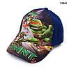 Кепка Turtles для мальчика. 50-53 см