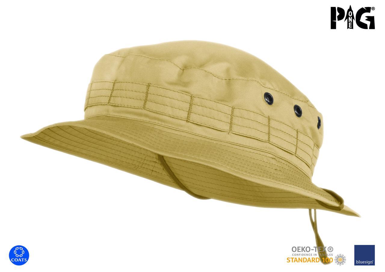 """Панама военная полевая P1G® """"MBH"""" (Military Boonie Hat) - Moleskin 2.0 - Bush Brown"""