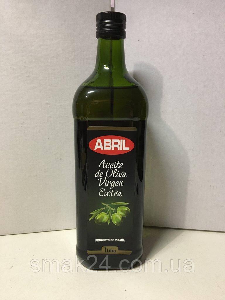 Олія оливкова Abril Aceite de oliva virgen extra 1л Іспанія