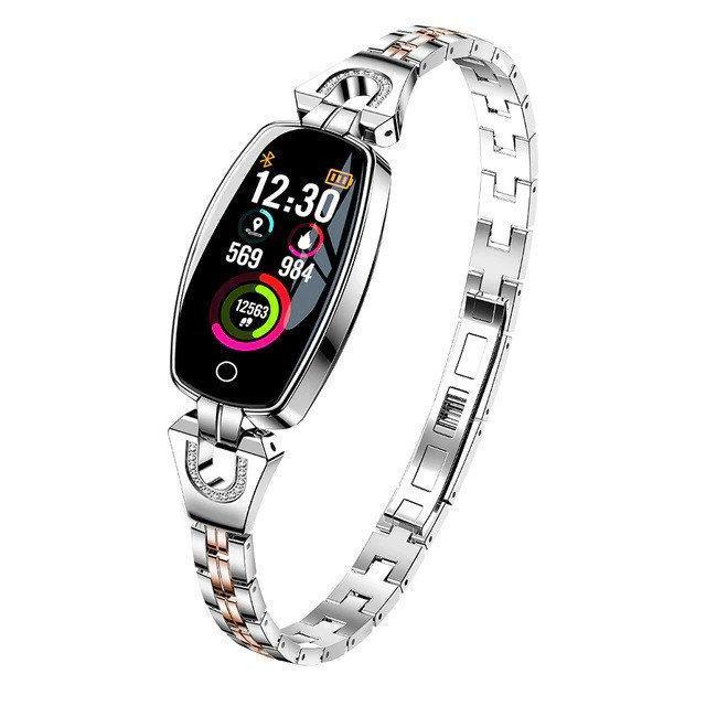 Смарт-часы Smart band LEMFO H8 Silver