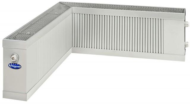 угловой радиатор для водяного отопления