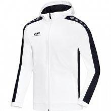 Куртка Jako Hoodie Jacket Striker 6816-00 цвет: белый