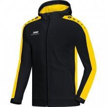 Куртка Jako Hoodie Jacket Striker 6816-03 цвет: черный