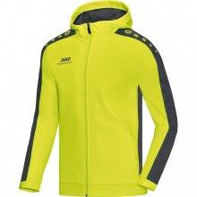 Куртка Jako Hoodie Jacket Striker 6816-23 цвет: салатовый