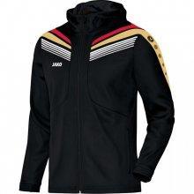 Куртка с капюшоном Jako Hoodie Jacket Pro 6840-14 детская цвет: черный