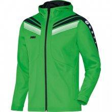 Куртка с капюшоном Jako Hoodie Jacket Pro 6840-22 детская цвет: зеленый