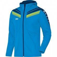 Куртка с капюшоном Jako Hoodie Jacket Pro 6840-89 детская цвет: голубой