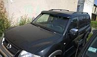 Козырек на лобовое Mitsubishi Pajero wagon (1999+)