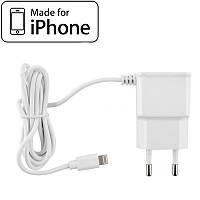 Зарядное устройство для iPhone, 1A + кабель Lightning для айфона, зарядка на айфон (A801)