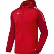 Куртка с капюшоном Jako Hoodie Jacket Champ 6817-01 цвет: красный/темно-красный
