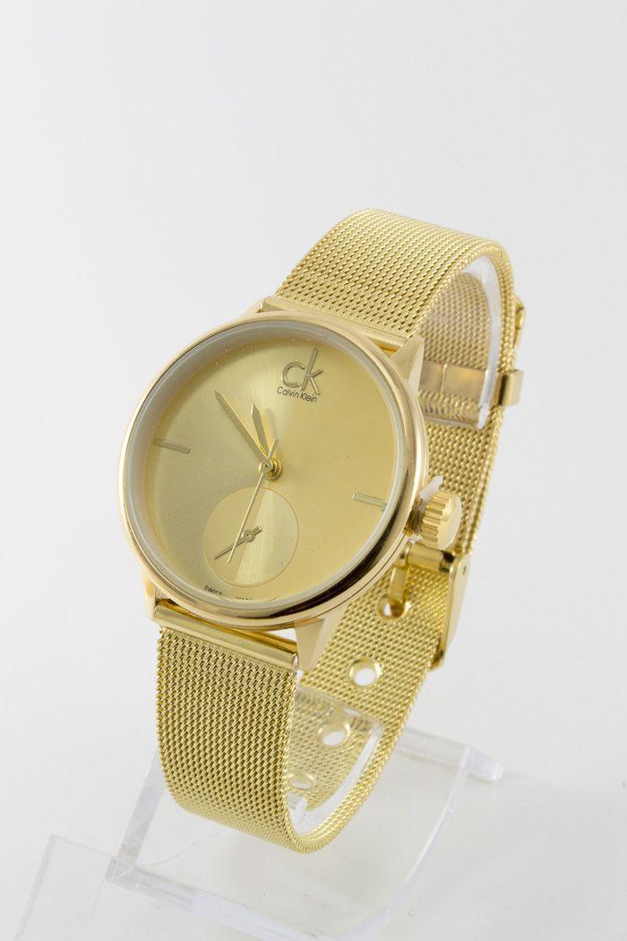 Женские наручные часы, в стиле Кэлвин Кляйн (код: 13757)