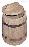 Кадка дубовая 3 литра
