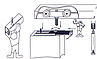 Раздвижная система max 40 кг полотно,направляющая 3 м, фото 2